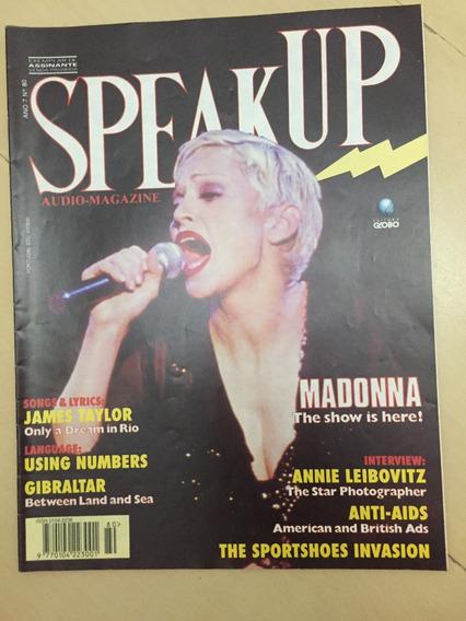 Revista Speak Up 80 Madanna James Taylor Leibovitz Z463
