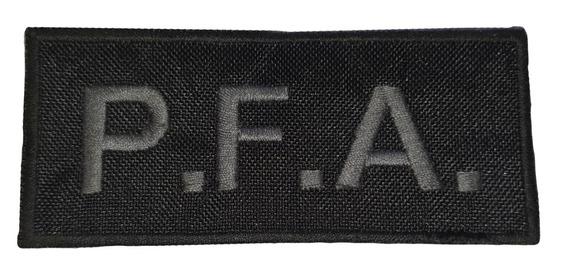 Oblea Bordada Parche Escudo Policía Federal Baja Vis