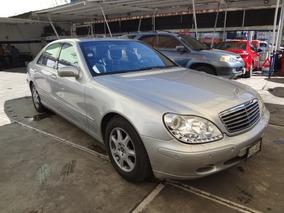 Mercedes-benz Clase S 5.0l 500 Mt 2001