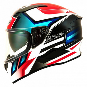 Capacete Suomy Speedstar Asymmetric Blue Red Motogp