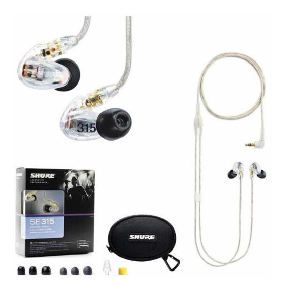 Fone In Ear Shure Se315 Cl - Monitor De Palco Original