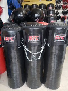 Saco De Boxeo Cuchimbolo Kick Boxing Cadenas Ganchos Relleno