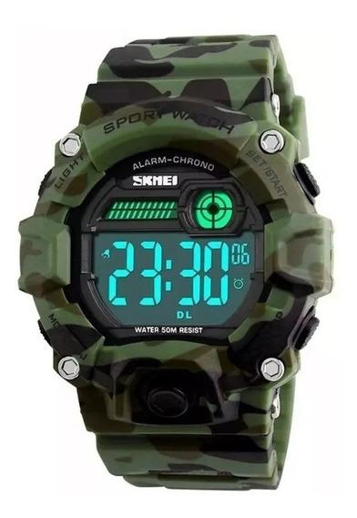 Relógio Masculino Esportivo Digital Original Garantia Nota F
