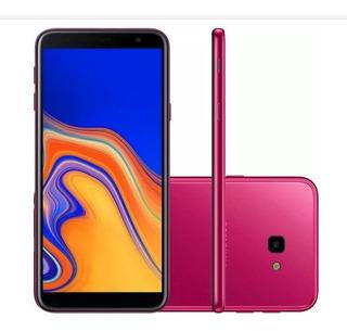 Smartphone Samsung Galaxy J4+ 32gb 13mp Tela 6 Rosa