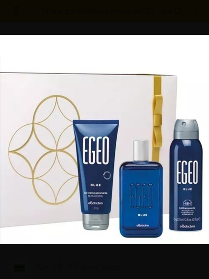 O Boticário Kit Egeo Blue