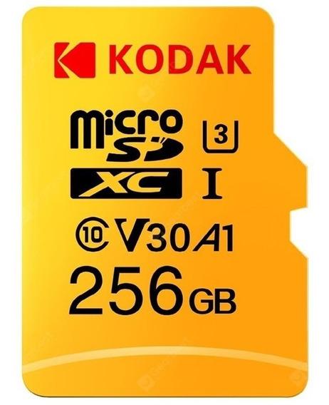 Cartão De Memória Kodak Original 256gb Novo Lacrado Grava 4k