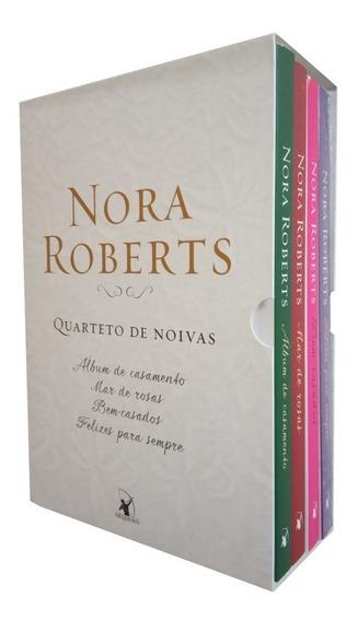 Quarteto De Noivas - Box Com 4 Livros - Nora Roberts - Novo