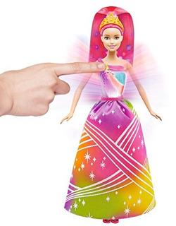 Barbie Princesa Dreamtopia Rainbow Cove Espectáculo Luz Muñe