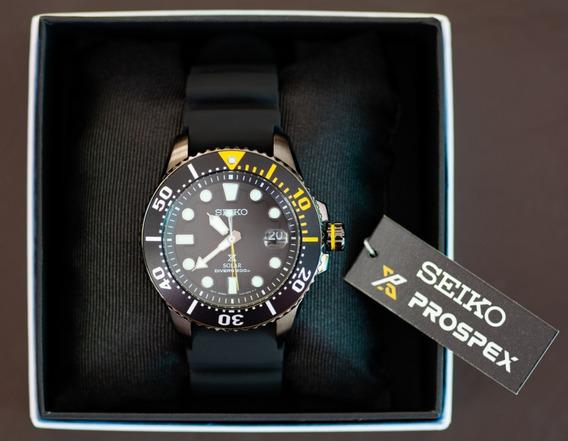 Relógio Seiko Prospex Sne441 Solar Diver 200m P. Entrega