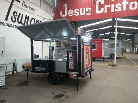 Treilher 2,50 Food Truck Fabricação Novo