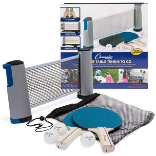 Champion Sports Set Tenis De Mesa Ping Pong + 20 Pelotas