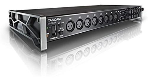 Tascam Us-16x08 Interfaz De Audio / Midi Usb Para Montaje En