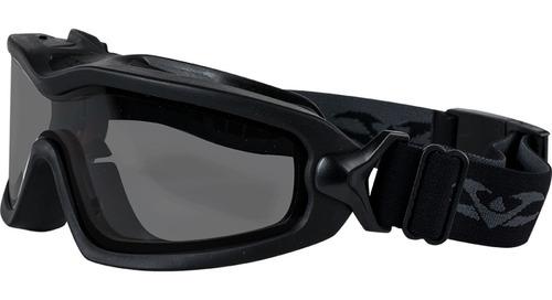 Imagen 1 de 1 de Lentes Negros Goggle Lancer Tactical Airsoft Xtreme P