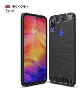 Forro Xiaomi Redmi Note 7 Fibra De Carbono
