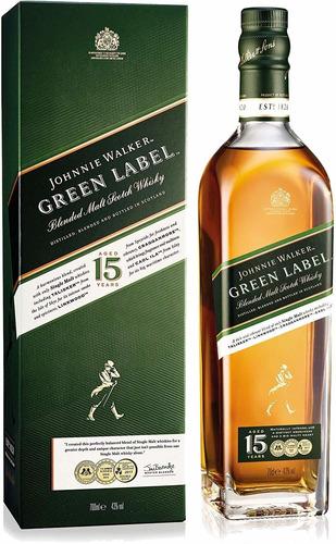 Whisky Johnnie Walker  Verde (1.botella) 100% Original