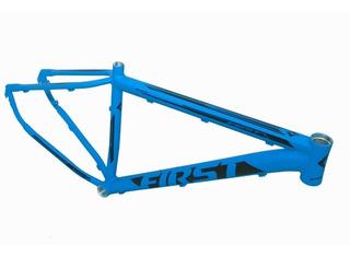 Quadro De Bicicleta Aro 29 First Azul Tamanho 17,5