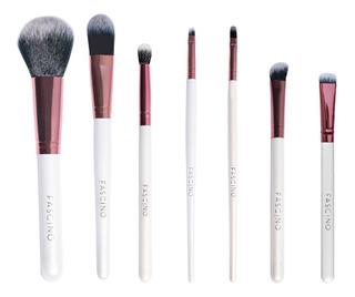 Set 7 Brochas Y Pinceles De Maquillaje Crueltyfree Fascino