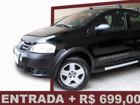 Volkswagen Crossfox 1.6 Total Flex 2008/ Entrada + R$ 699,00