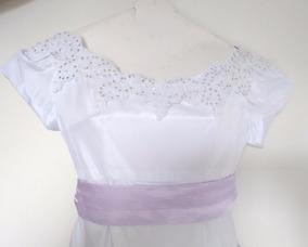 Vestido Dama De Honra Infantil