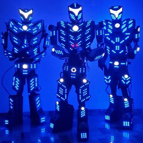 Imagem 1 de 5 de Aluguel Robô Titan Led Locação Evento Debutante, Casamento,