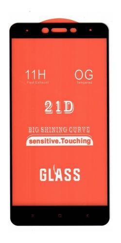 Vidrio Templado 5d Fullcover Xiaomi Redmi Note 4 Global
