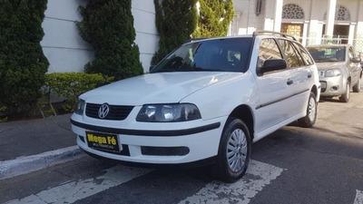 Volkswagen Parati 1.6 (álcool) Com Direção Hidráulica 2002