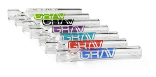 Grav 12mm Clear Taster Chillum Hand Pipe