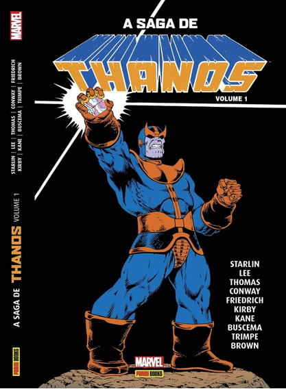 Hq - A Saga De Thanos - Volume 1 - Capa Dura Lacrado