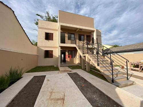 Apartamento Com 2 Dormitórios À Venda, 50 M² Por R$ 159.000,00 - Bom Sucesso - Gravataí/rs - Ap0824