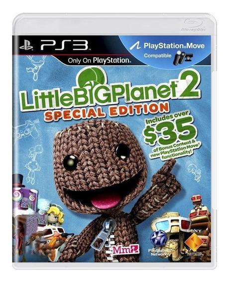 Littlebigplanet 2 Special Edition Ps3 Mídia Física