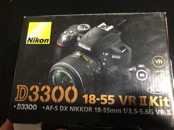 Camara Nikon D3300 , Full Accesorios. Nueva