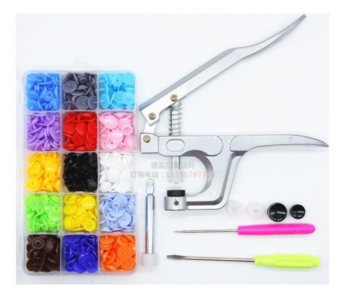 Clothes T5 - Kit De Tela De Plástico Con Cierre De Presión