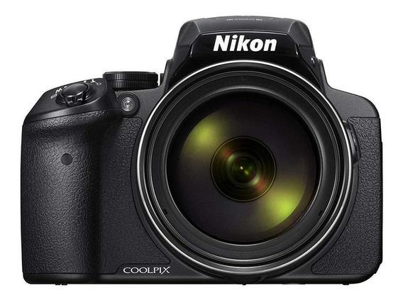 Nikon Coolpix P900 compacta avançada preta