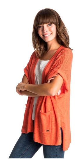 Suéter Dama Diseño Abierto Al Frente Estilo Kimono Roxy