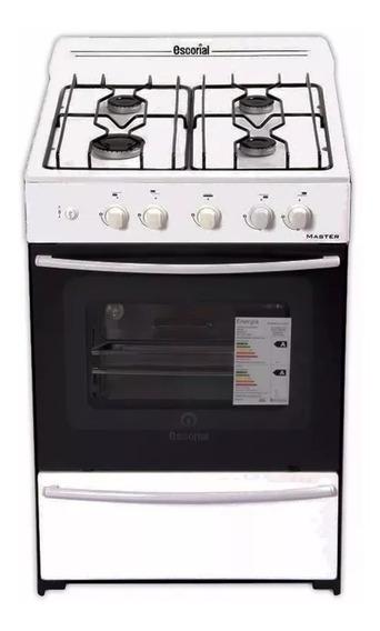 Cocina Escorial Multigas Master Full Blanca 56cm Luz Y Encen