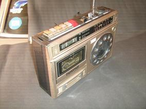 Rádio Gravador Am/fm/fita Cassete Marca Diplomat (antigo).