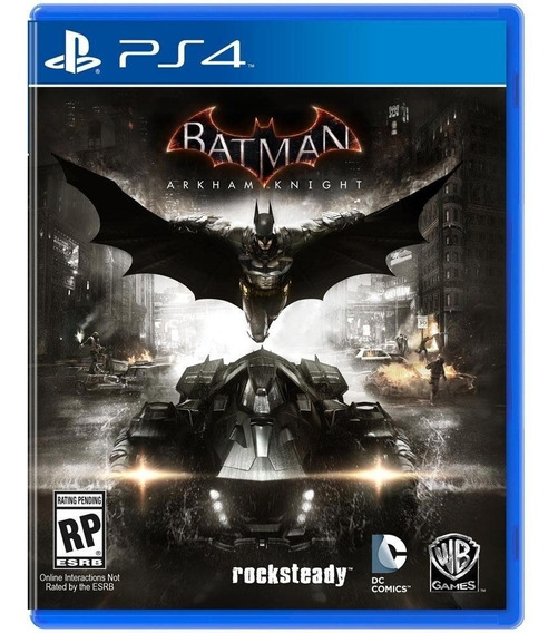 Game Batman Arkham Knight Ps4 Disco Físico Original Lacrado