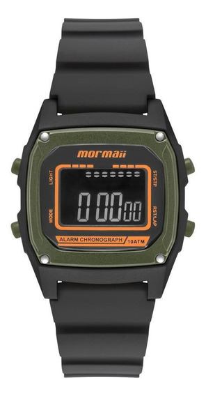 Relógio Unissex Mormaii Steel Basic Preto - Original