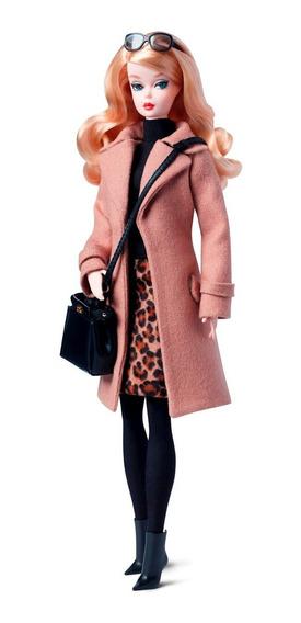 Barbie Silkstone Classic Camel Coat - Poseable / Articulada