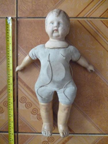 Imagen 1 de 5 de Antigua Muñeca Composicion Coleccionable