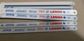 Hoja De Segueta Lenox 24 Dientes Paquete De 10 Unidades