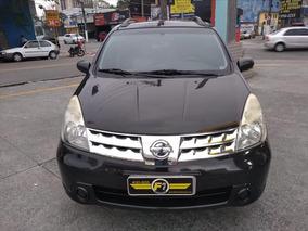 Nissan Livina 1.6 S Completa Bco Couro 2012