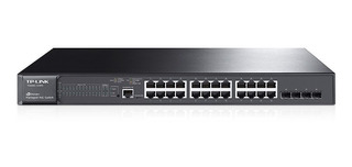 Switch Administrable Tp Link 24 Gigalan Sg 3424p Poe 4 Sfp