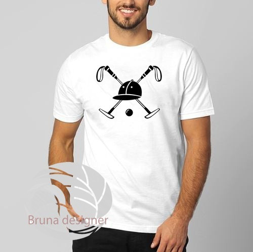 Camiseta Básica Customizada Play Polo Play - Super Oferta