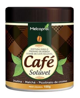 Café Soluvel Com Matcha E Cromo Melcoprol 100gr
