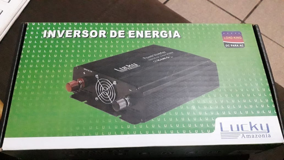 Conversor Inversor Energ. Lucky Amazonia 2000w 12v Para 110v