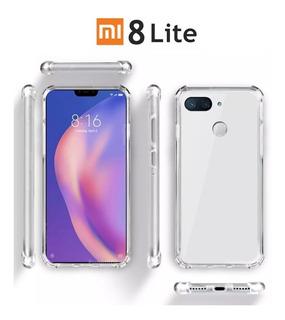 Funda Reforzada Rígida Transparente Xiaomi Mi 8 Lite