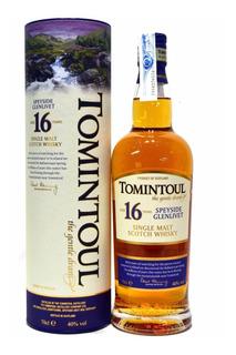 Whisky Single Malt Tomintoul 16 Años Speyside