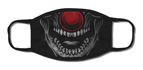 Máscara De Tecido   Dupla Camada Chronic Face Bones Lavavel
