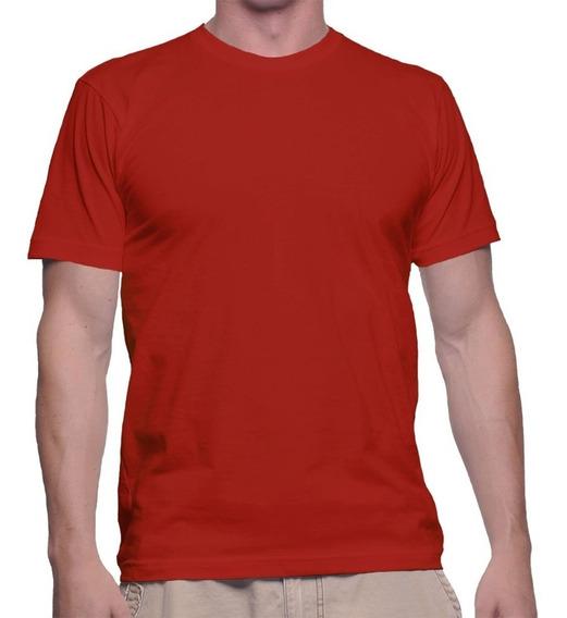 Kit 2 Camisetas Básica Lisa Várias Cores Camisa T-shirt
